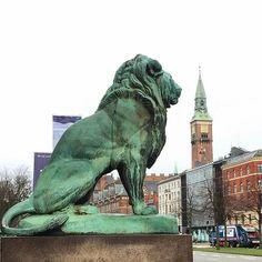 Billedresultat for skulptur løver ved glyptoteket