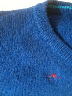 Visible sweater darn | Flickr - Photo Sharing!