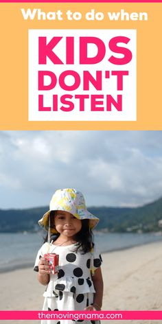 If your kids don't listen very well you have got to check out these 5 respectful tips for when kids don't listen. It's not uncommon for kids not to listen, but what do you do to get them to listen to you more? If you want your kids to listen follow these gentle parenting approved strategies to get your kids to listen. Works great for toddler discipline too. Parenting Goals, Gentle Parenting, Kids And Parenting, Parenting Hacks, Toddler Behavior, Toddler Discipline, Kids Wont Listen, Respect Parents, Terrible Twos