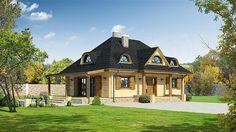 projekt Chmielniki małe dw KRP1297 Home Fashion, Gazebo, House Plans, Outdoor Structures, Cabin, Mansions, House Styles, Home Decor, Future