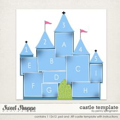 Castle Template by Penny Springmann