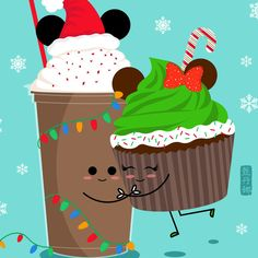 Sweet holiday treats from Disneyland. This is part of my Disneyland Holiday food series.