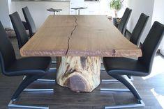 Hier finden Sie eine Auswahl unserer handgefertigten Echtholztische. Für Ihr Esszimmer oder Konferenzzimmer, wahlweise mit Holzbeinen oder Stahlbeinen.