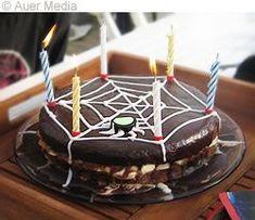 Recept: Spindelvävstårta - en tårta till Halloween eller Spiderman kalas