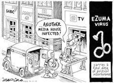 The eZuma Virus Strikes Again African, Cartoon, Comics, Cartoons, Comic, Comics And Cartoons, Comics And Cartoons, Comic Books