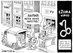 Zuma - The eZuma Virus Strikes Again published in Mail & Guardian on 30 Oct 2014