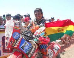 Salvatierra va por el podio en el Dakar 2013