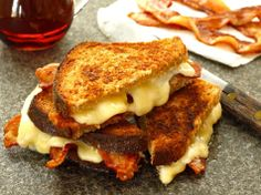 Heaven in Vermont Grilled Cheese. You'll understand after the first bite. #GrilledCabot