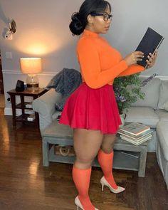 Beautiful Black Women, Big And Beautiful, Amazing Women, Daphne And Velma, Thick Girl Fashion, Botas Sexy, Bombshell Beauty, Rock, Sensual