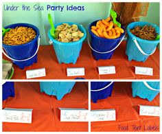 {First Birthday} Under the Sea: Food and Favors