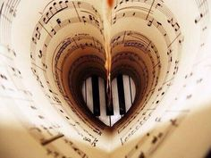 48 Ideas For Music Pictures Image Photography The Piano Sound Of Music, Music Is Life, Good Music, My Music, Music Heart, Music Stuff, Heart Art, Music Guitar, Piano Music
