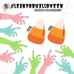 #leanforhalloween Join in for the Lean for Halloween Challenge!  Free to use! Follow me on Instagram: www.instagram.com/Fluffinjourney