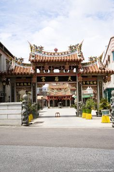 Tian Ho Kung in Jincheng Town, Kinmen County, Taiwan