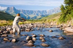 Fly Fishing in KwaZulu Natal. Sport Fishing, Fly Fishing, Under The Rainbow, Private Games, Road Trip Adventure, Kwazulu Natal, Game Reserve, Trout, South Africa