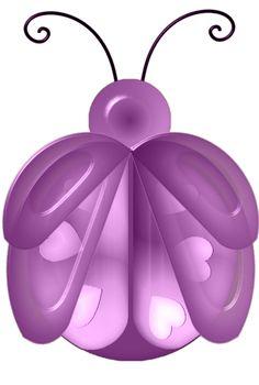Ladybug Ladybug -  Purple