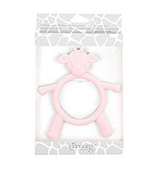 Little Giraffe G Baby Teething Toy, Pink