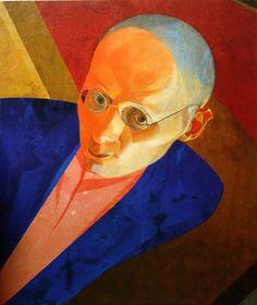 Leonid Chupyatov - Self-portrait, 1925