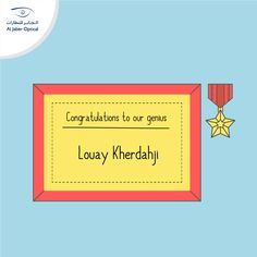 """Congratulation Louay! 👏🏻 You're the #winner of last week's #challenge! The correct #answer of the #equation was """"90""""! Thank you all for participating! A new winner will be announced next week for the latest challenge. You still have time to participate and you might be the next #lucky one!   #Aljaber_optical #announcement #winner #competition #chanllenge #equation"""