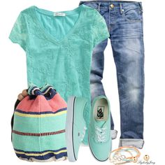 """Vans"" by stylesbyjoey on Polyvore"