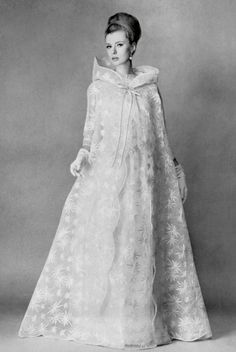 1963 Jacques Griffe   Wedding Dress
