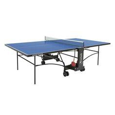 Pöytätennispöytä ulkokäyttöön -Garlando Advance outdoor on loistava valinta silloin kun haluat pelata pöytätennistä ulkona   Tasapeli.fi