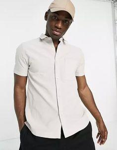 off white stylish shirt- engagement outfits Engagement Photo Outfits, Engagement Photos, River Island Shorts, Asos, Stylish Suit, Shorts With Pockets, Shirt Style, Chef Jackets, Men Casual