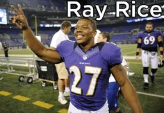 Ray Rice showing greatness off the field for the people of Baltimore.