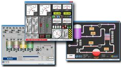 SCADA free is something that is also available. However, the real-time control logic or controller calculations are performed by networked modules which connect to the field sensors and actuators.