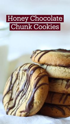 Fun Baking Recipes, Sweet Recipes, Cookie Recipes, Dessert Recipes, Snack Recipes, Delicious Desserts, Yummy Food, Just Desserts, Honey Cookies