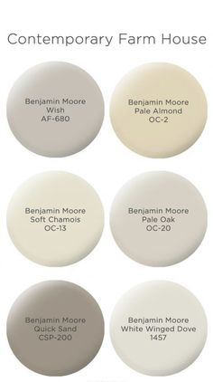 just looking a picture is not enough, visit my website to see more about Farmhouse Paint Colors by Benjamin Moore. Taupe Paint Colors, Indoor Paint Colors, Farmhouse Paint Colors, Paint Color Schemes, Exterior Paint Colors, Paint Colors For Home, Gray Paint, Cottage Paint Colors, Best Bedroom Paint Colors