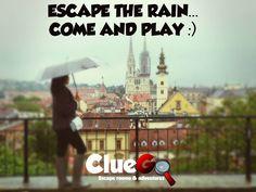 Ono kad piješ kavu i gledaš kišu kroz prozor...   #kiša #zagreb #jesenstiže #escaperoom #ClueGo