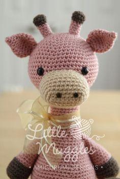 Amigurumi Crochet Pattern  Stanley the Giraffe