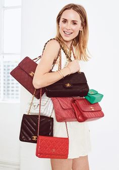 Anine Bing and vintage Chanel Flap Bags