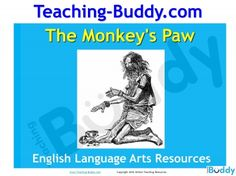 The Monkey's Paw teaching resource - PowerPoint and worksheets unit of work