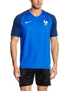 2016-2017 France Home Nike Football Shirt: Jersey Home France Brand New With Tags Worn during 2016-17 season 100% Official Soccer…