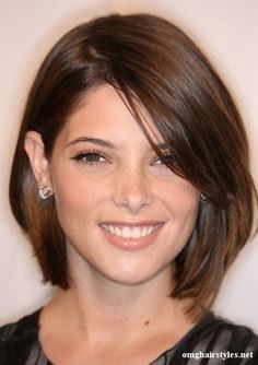 I wish I could go this short but I'm never quite brave enough and end up with it right above my shoulders!