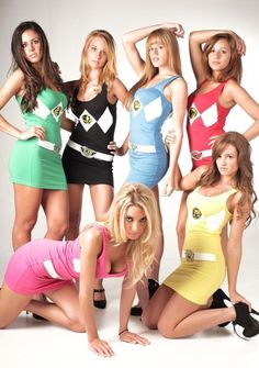 Get your slutty Mighty Morphin Power Rangers dresses on Amazon now!