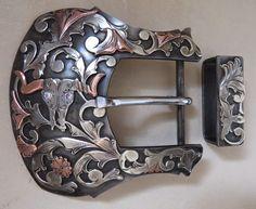 Item 007202 - New Handmade CHRIS PAULSEN Belt Buckle - Must Fish Western Tackle - Picasa Web Albums