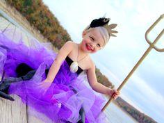 Toddler Ursula Costume Idea