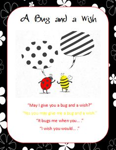 Think, Wonder, & Teach: A Bug & A Wish, A Walk & A Wave