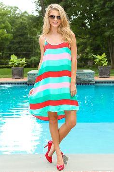 Girls Weekend Dress | Mint Dress | Red Pumps | Perfect Summer Dress | Summer Staple | Must Have | Repin | ootd | Red Dress Boutique |