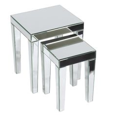 Found it at AllModern - 2 Piece Nesting Table Set