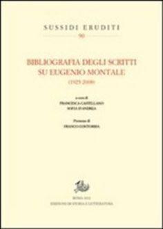 Prezzi e Sconti: #Bibliografia degli scritti su eugenio montale  ad Euro 61.20 in #Storia e letteratura #Media libri saggistica critica