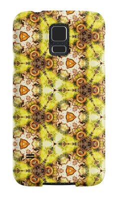"""Seamless pattern ""The abstract sketch"""" Samsung Galaxy Cases & Skins by floraaplus 