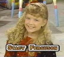 On Kids Incorporated before she had lovely lady lumps lol