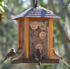 How To Build A Bird Feeder Pole