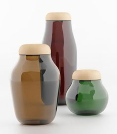 Natura Jars by Héctor Serrano for La Mediterranea