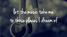 music is my escape from reality | music is my escape | Tumblr
