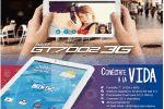 Tablet GT7002 3G..Conéctate a la vida!!
