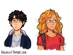 Some 12 y/o percabeth for ya'll<<<<finally some percabeth fanart that makes them actually look 12;)